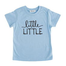 little little tshirt blue little little sibling pregnancy announcement set sibling tshirt set