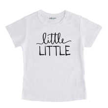Little Little - Pregnancy Announcement Sibling Tee
