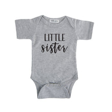 little sister onesie grey little sister sibling onesie pregnancy announcement sibling tshirt set