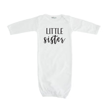 little sister layette white little sister sibling tshirt pregnancy announcement sibling tshirt set
