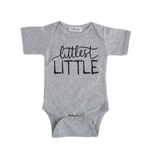 littlest little onesie grey littlest little sibling pregnancy announcement set sibling tshirt set
