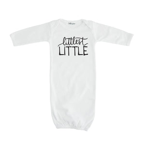 littlest little layette white littlest little sibling pregnancy announcement set sibling tshirt set