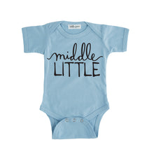 middle little onesie blue middle little sibling pregnancy announcement set sibling tshirt set