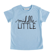middle little tshirt blue middle little sibling pregnancy announcement set sibling tshirt set