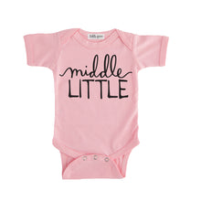 middle little onesie pink middle little sibling pregnancy announcement set sibling tshirt set