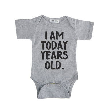 I Am Today Years Old Onesie