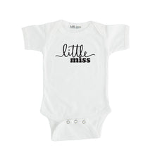 white little miss onesie