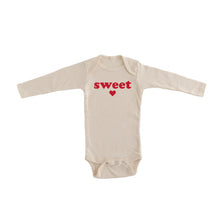 sweetheart onesie cream baby onesie valentine's day pregnancy announcement onesie