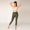 High Waist Leggings - Army