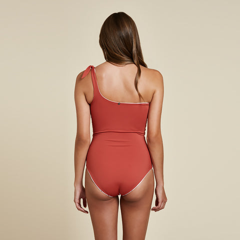 Sydney One Piece Reversible - Riad / White Bird