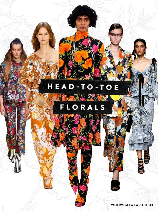 How To Wear Floral Head-To-Toe
