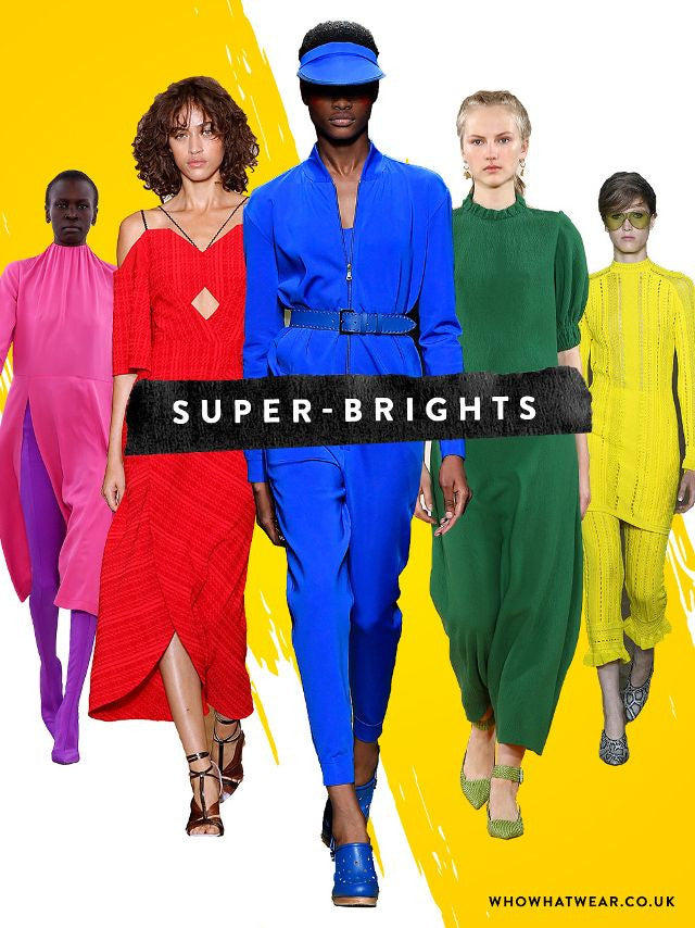 How To Wear Bright Colors