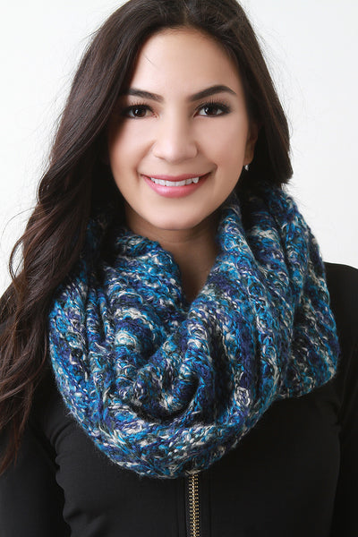 Condo Knit Fluff Infinity Scarf for $ 0.34 at KenKay Apparel