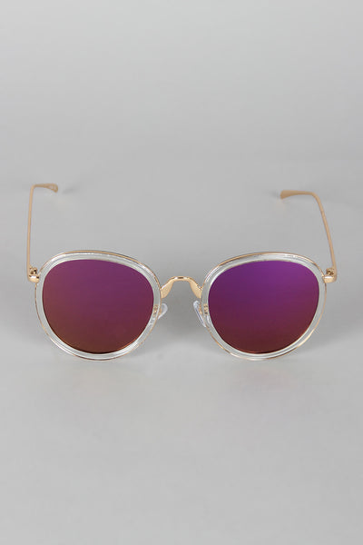 Pointy Bridge Plastic and Metal Sunglasses for $ 0.17 at KenKay Apparel