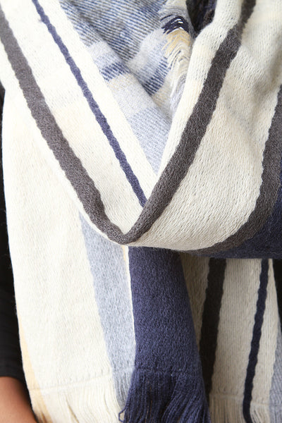 Woven Plaid Over Sized Fringe Hem Scarf for $ 0.30 at KenKay Apparel