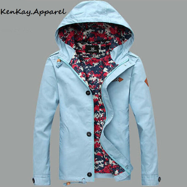 Casual Parka Jacket With Hood for $ 0.39 at KenKay Apparel
