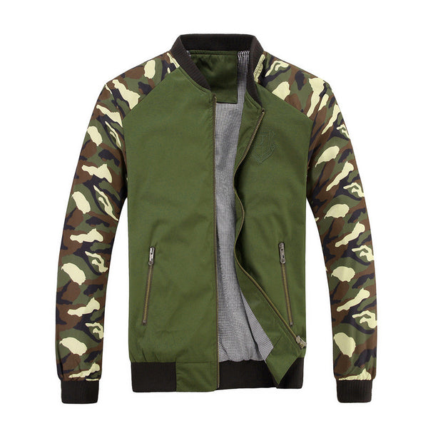Camouflage Sleeve Jacket for $ 0.25 at KenKay Apparel