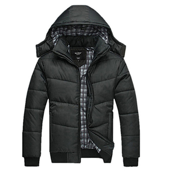 Classic Solid Winter Coat for $ 0.26 at KenKay Apparel
