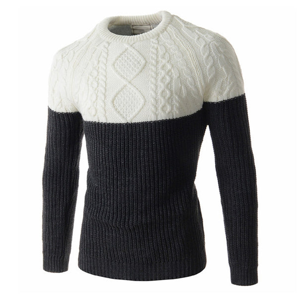 Slim Fit Knitted Pullover Sweater for $ 0.39 at KenKay Apparel