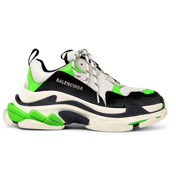 Balenciaga TRIPLE S - WHITE/BLACK/GREEN