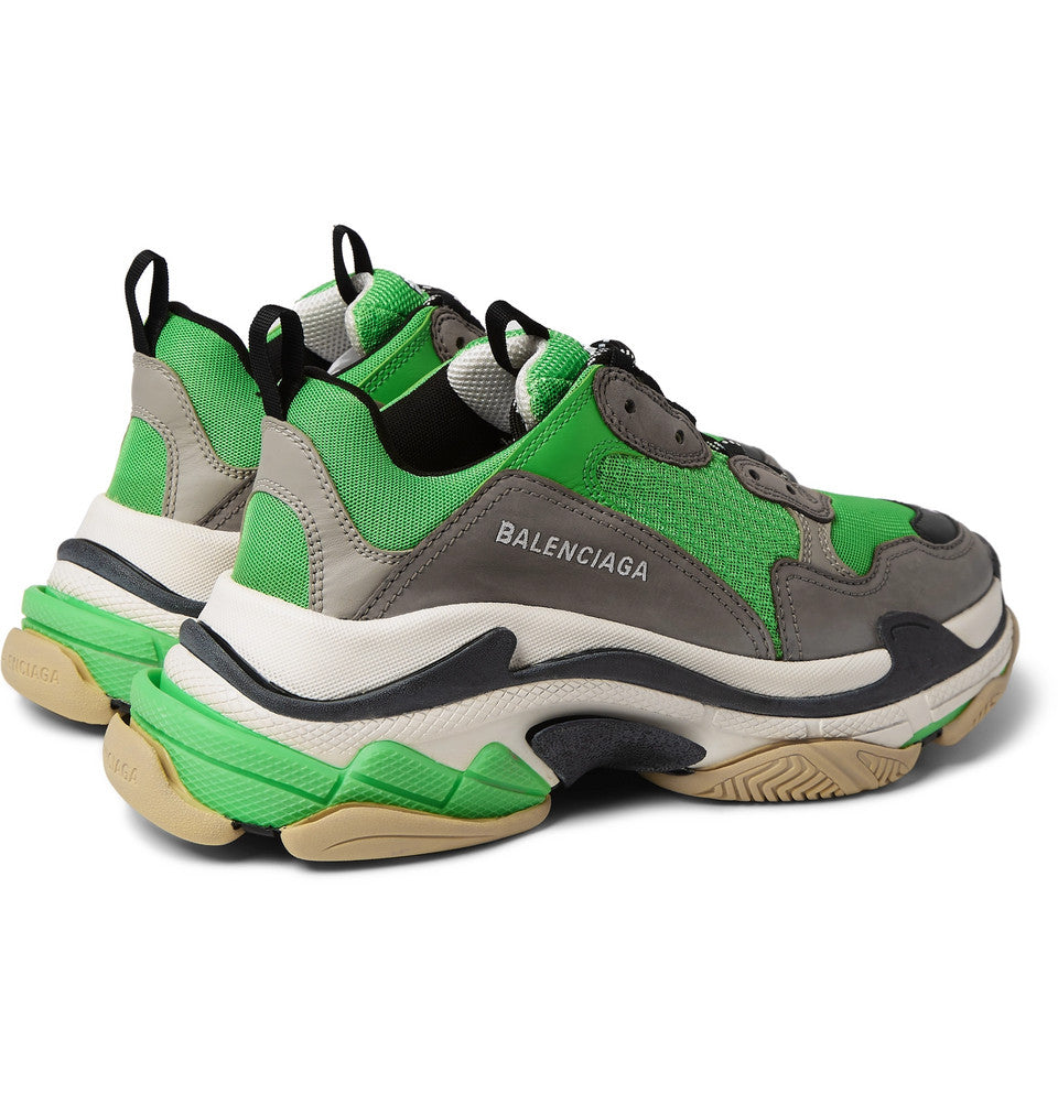 Balenciaga TRIPLE S - DARK GREY/GREEN