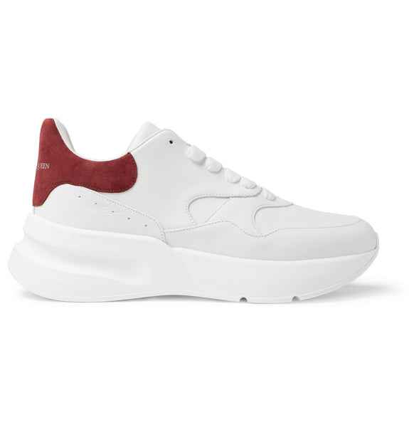 ALEXANDER MCQUEEN Oversized Runner - White/Red