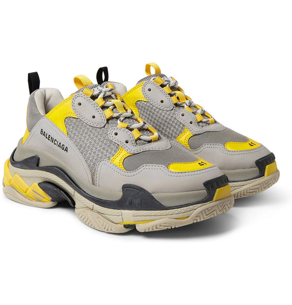 Balenciaga TRIPLE S - GREY/YELLOW