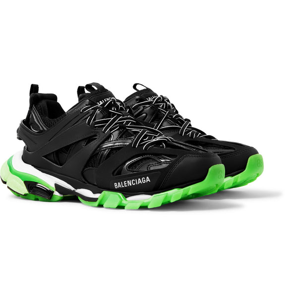 Balenciaga TRACK Trainer  - BLACK/GREEN