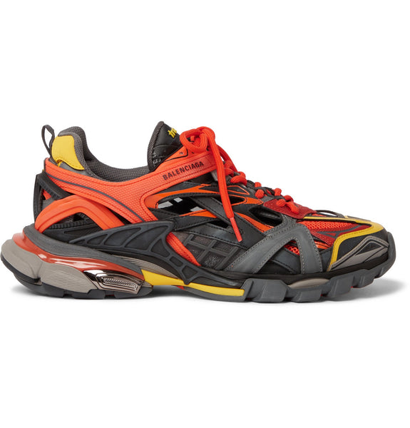 Balenciaga TRACK 2 Trainer  - Orange/Black