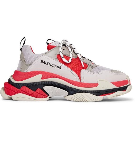 Balenciaga TRIPLE S - GREY/BLACK/RED