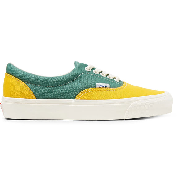 Vans OG Era LX Colour-Block - Green/Yellow