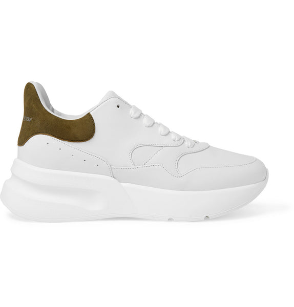 ALEXANDER MCQUEEN Oversized Runner - White/Brown