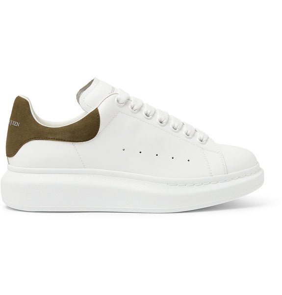 ALEXANDER MCQUEEN Oversized Sneaker - White/Light Brown