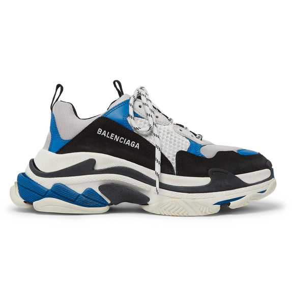 Balenciaga TRIPLE S - WHITE/BLACK/BLUE