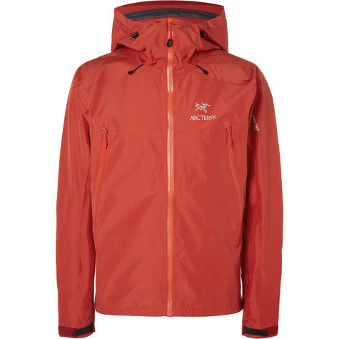 Arc'teryx Beta LT GORE-TEX® Pro Hooded Jacket - VERMILION