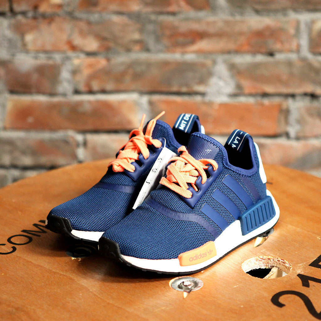 promo code a2ad6 fbf8c 女裝adidas Originals NMD RUNNER J - BLUE