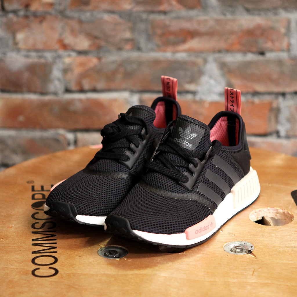 女裝adidas Originals NMD RUNNER - BLACK/PINK
