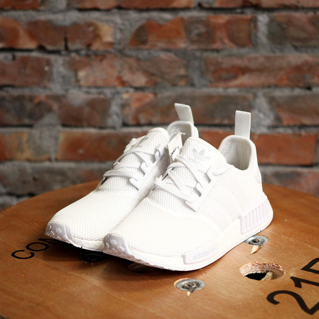 女裝adidas Originals NMD RUNNER MONOCHROME - WHITE