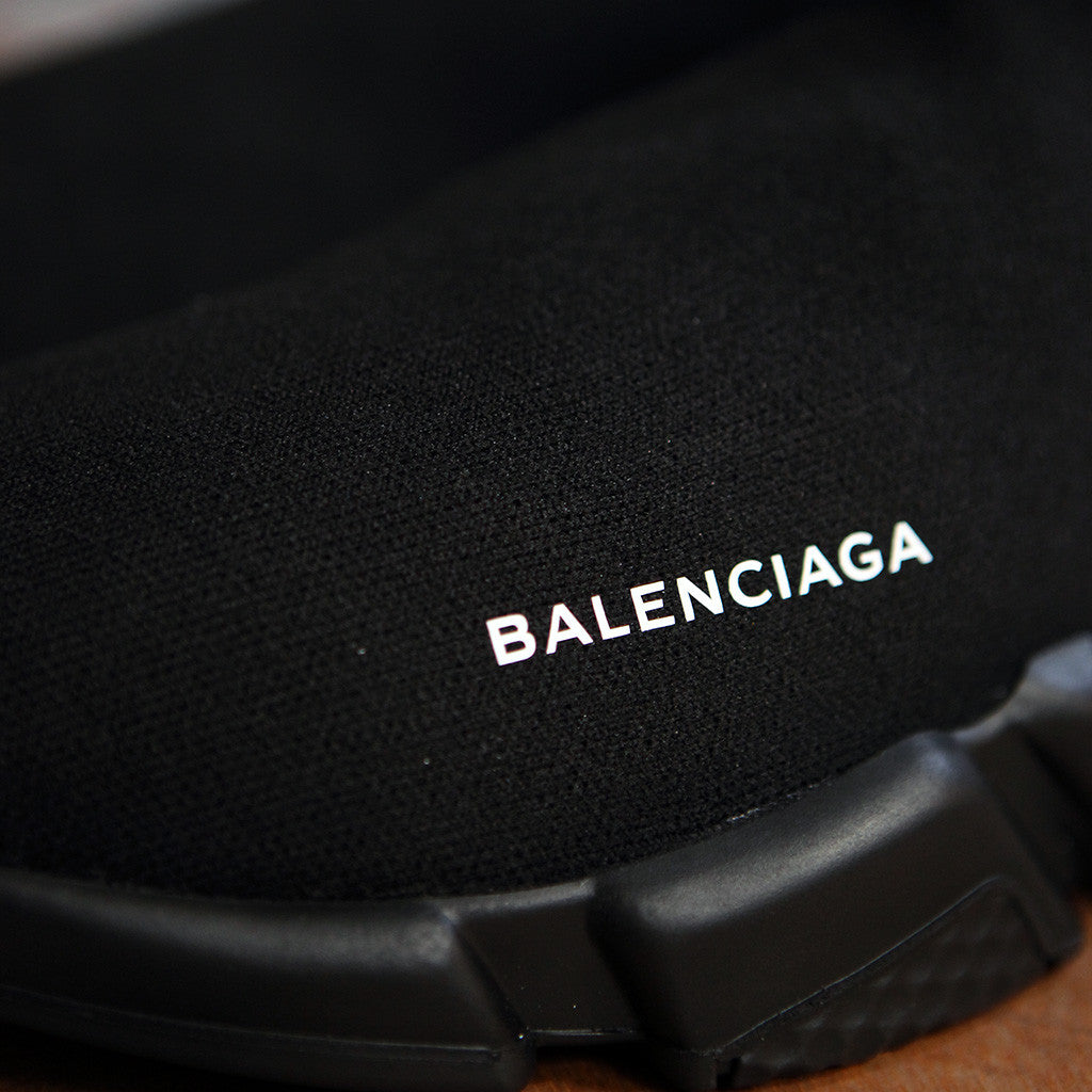 Balenciaga SPEED SOCK STRETCH-KNIT - BLACK