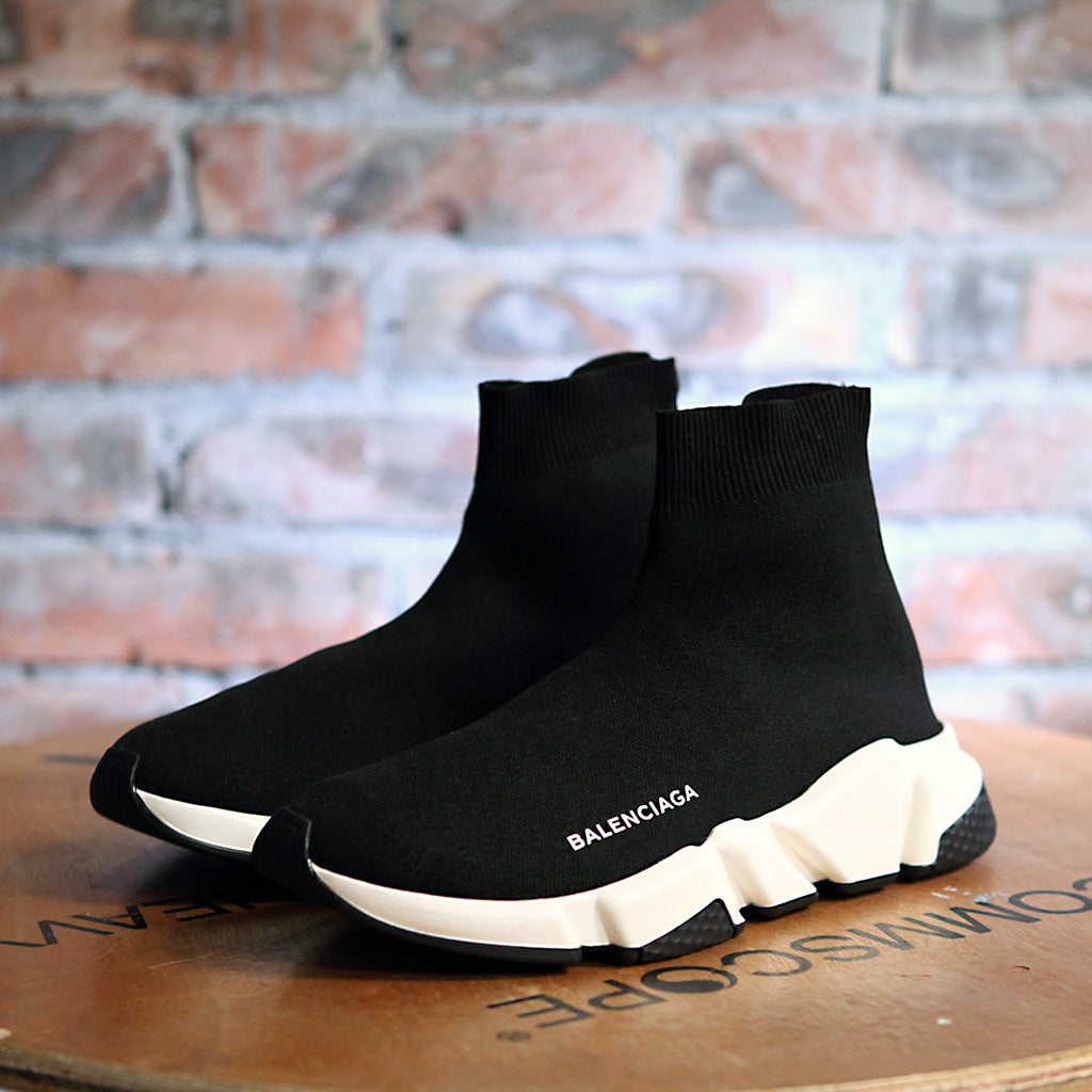 Balenciaga SPEED SOCK STRETCH-KNIT W - BLACK/WHITE