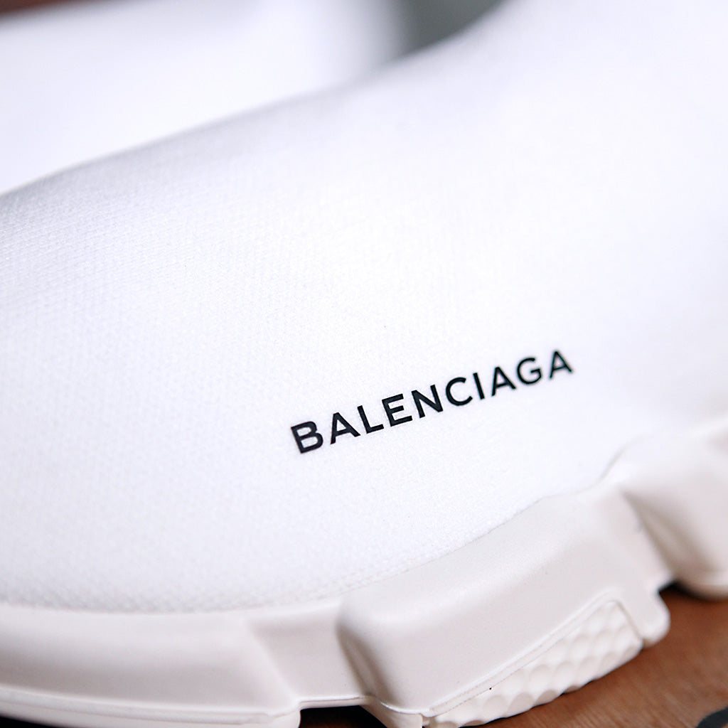 Balenciaga SPEED SOCK STRETCH-KNIT - WHITE