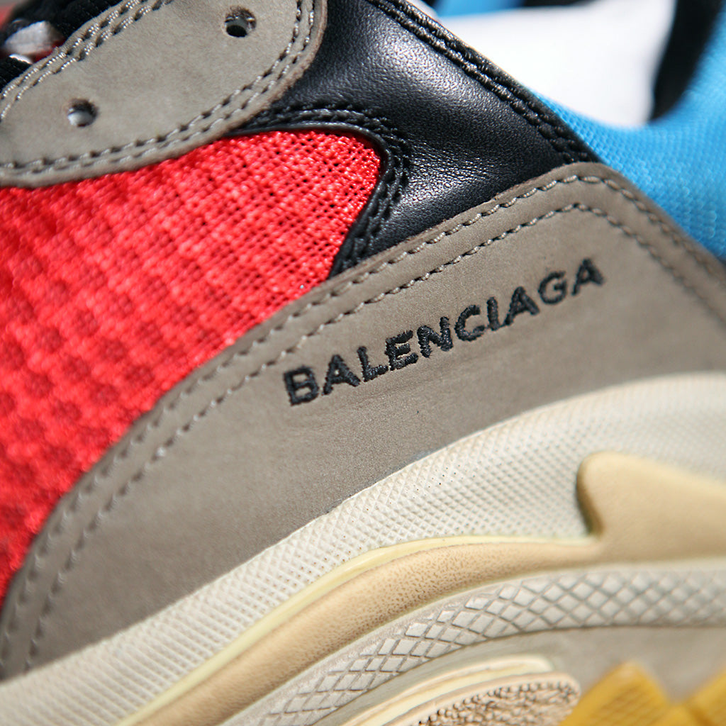 Balenciaga TRIPLE S - BLUE/RED