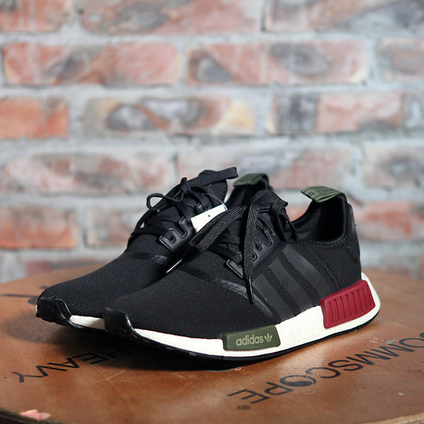 adidas Originals NMD R1 - BLACK/RED/GREEN