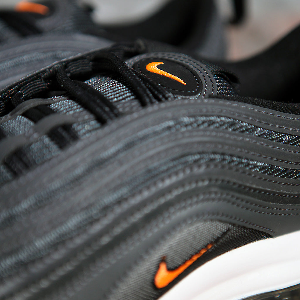 Nike AIR MAX 97 LEATHER - BLACK/WHITE