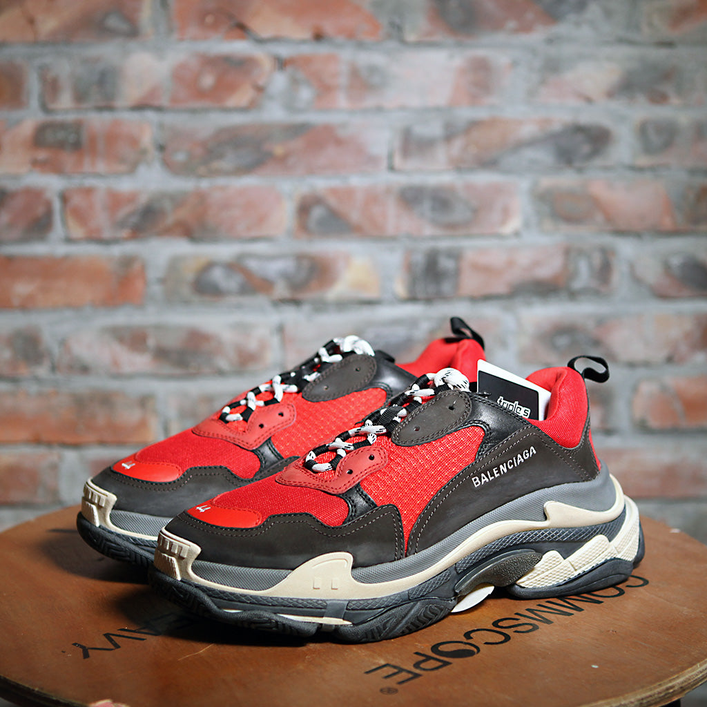 e8ce6f83b6bb Balenciaga TRIPLE S - RED BLACK – MyYeahSin買嘢先
