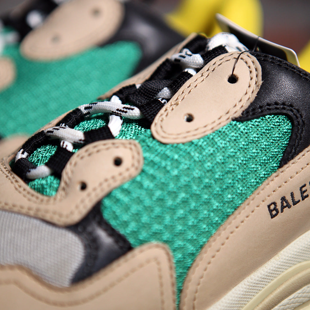 Balenciaga TRIPLE S - BIEGE/GREEN/YELLOW