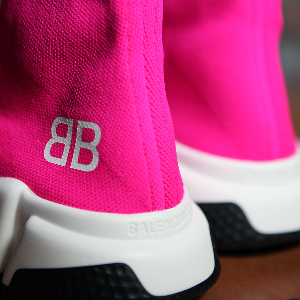 Balenciaga SPEED SOCK STRETCH-KNIT W - SHOCKING PINK