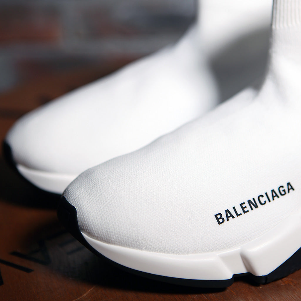 Balenciaga SPEED SOCK STRETCH-KNIT W - WHITE