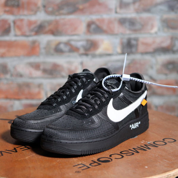 Off-White x Nike AIR FORCE 1 - BLACK