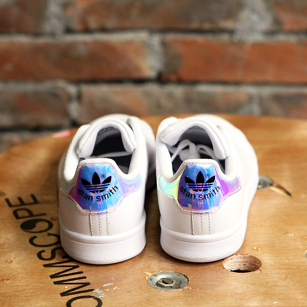 女裝adidas Originals STAN SMITH - RAINBOW